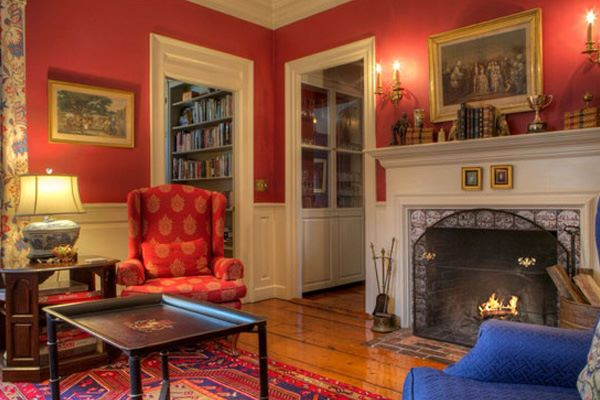 Common Areas of The Francis Malbone House, Rhode Island