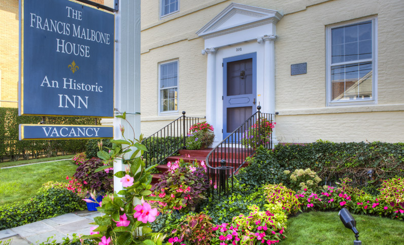 The Francis Malbone House, Rhode Island