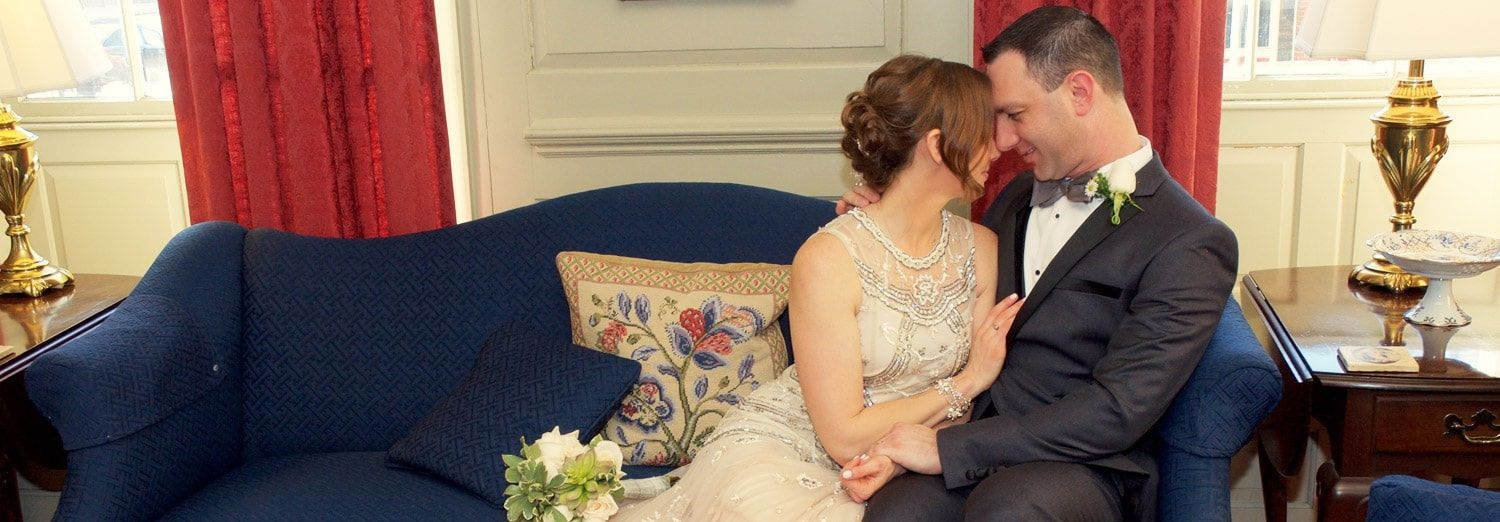 Elopement Package at The Francis Malbone House, Rhode Island