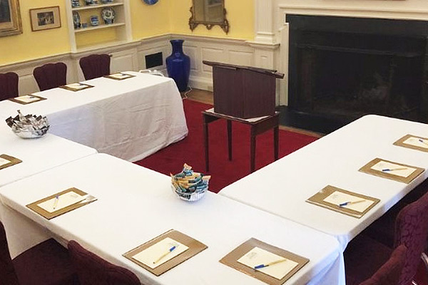 What We Offer Corporate Planners at The Francis Malbone House, Rhode Island