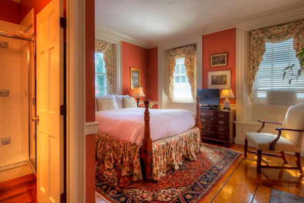 Gardenside Room - 1 at The Francis Malbone House, Rhode Island
