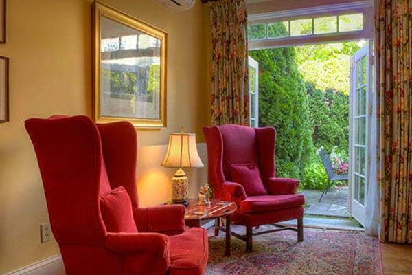 The Francis Malbone House, Rhode Island Courtyard Suite