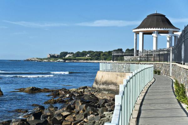 Cliff Walk at Rhode Island